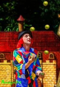 жонглёр-клоун