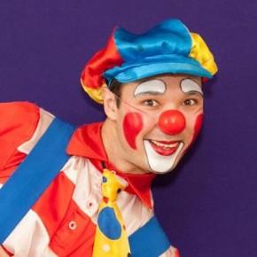 номер клоун надувной Бека
