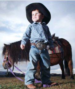 cawboy and pony