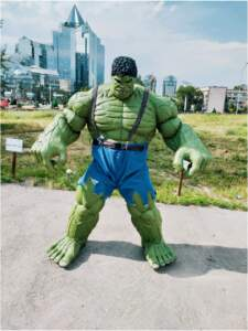 Hulk v almaty