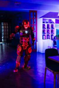 Iron Man animators