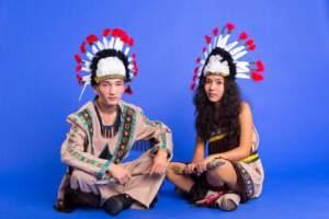 Индейцы в Алматы